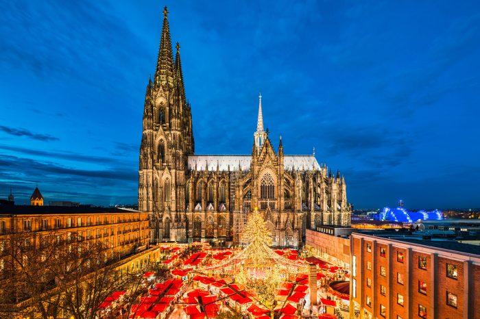 Köln, Weihnachtsmarkt und Hafenweihnacht