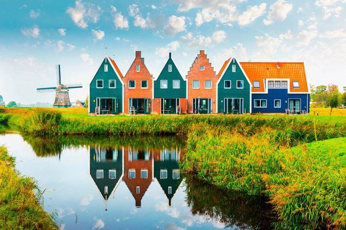Volendam und die Halbinsel Marken (NL)
