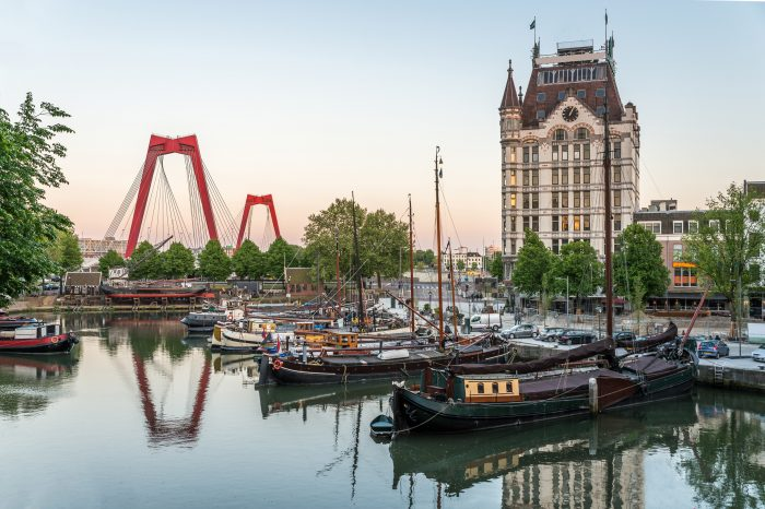 Rotterdam mit Hafenrundfahrt